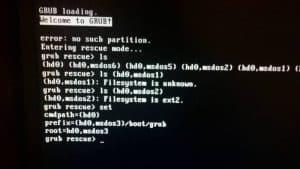 Perbaiki Error GRUB Rescue di Linux