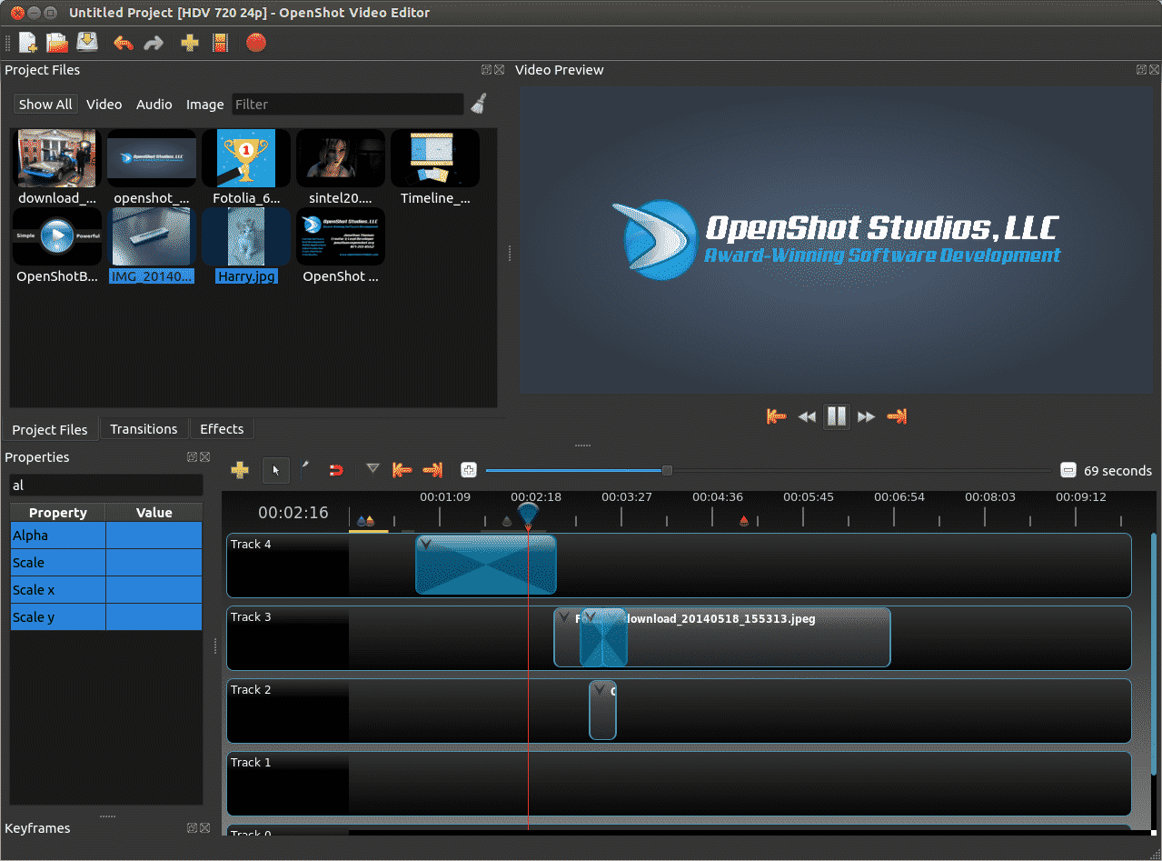 Install OpenShot di Ubuntu