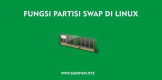 Fungsi Partisi SWAP di Linux