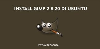 Install GIMP di Ubuntu