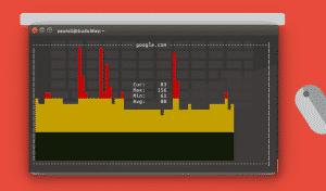 Lakukan Ping Dengan Grafis Menggunakan GPing