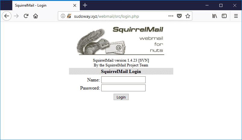 Mengakses Webmail Dengan Menggunakan Alias