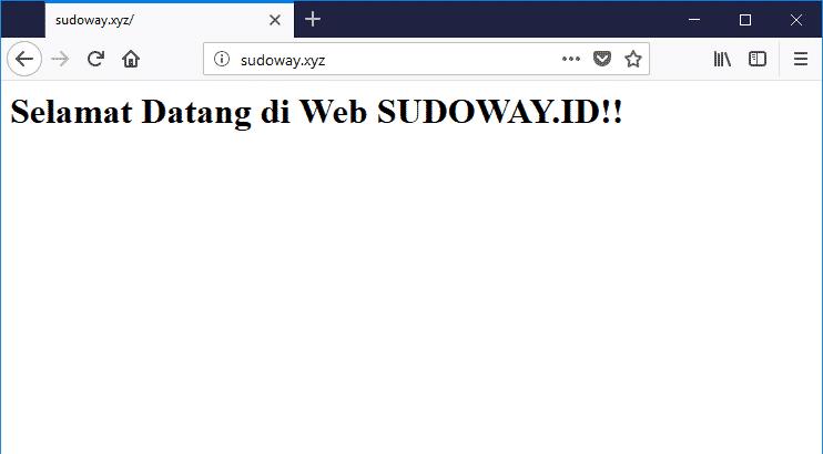 Pengujian Web Server