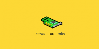 Ubah Network Interface Menjadi eth0