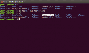 Cara Copy atau Menggandakan File Menggunakan Terminal