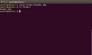 Membuat File di Dalam Folder Menggunakan Terminal