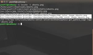 Melakukan Pencarian File Menggunakan Locate -i