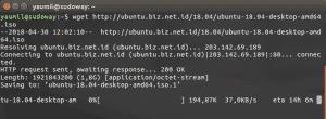 Download FIle Menggunakan Wget