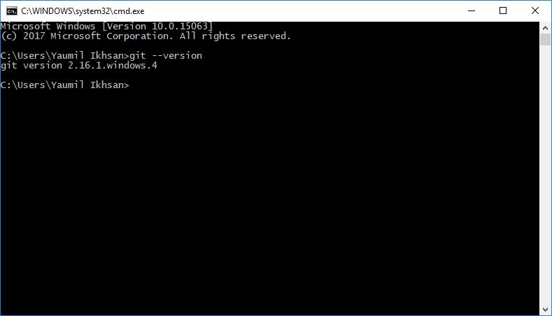 Cara Melihat Versi Git di Windows