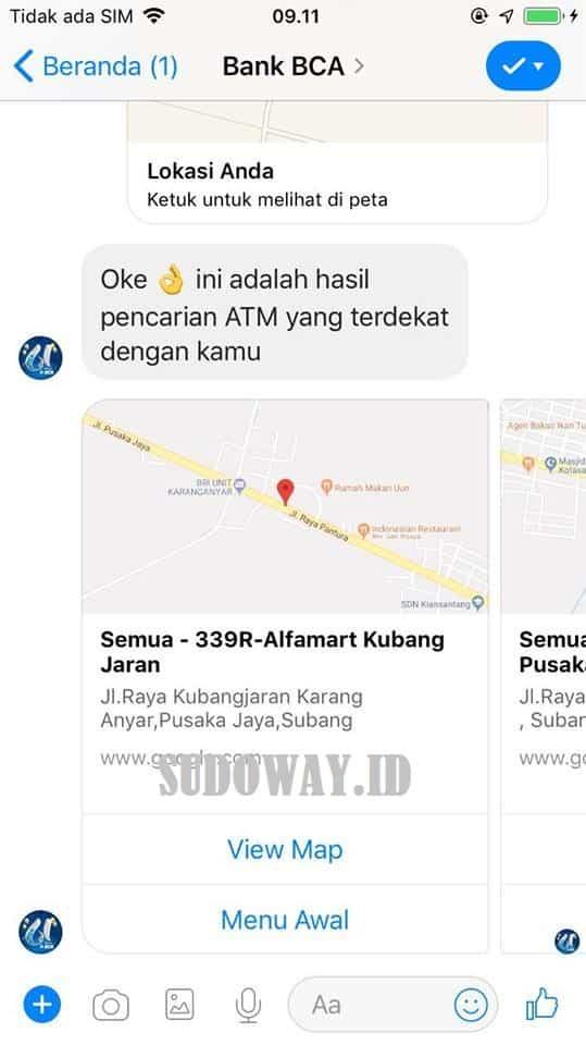 Cara Mencari ATM BCA Terdekat Dari Lokasi Saya Sekarang