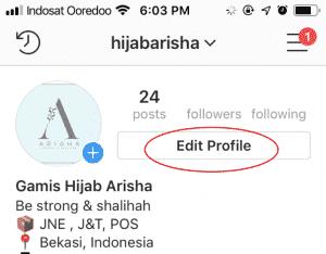 cara membuat link wa instagram