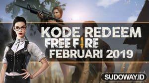 kode redeem FF Februari 2019