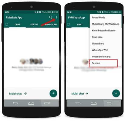 Cara Memperbarui FMwhatsapp