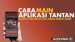 cara main aplikasi tantan featured