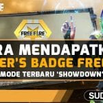cara mendapatkan winners badge free fire