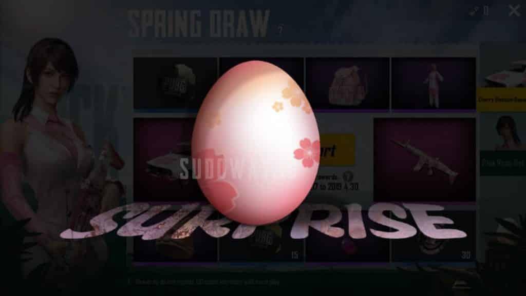 telur warna warni PUBG