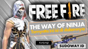 the way of ninja free fire apa itu